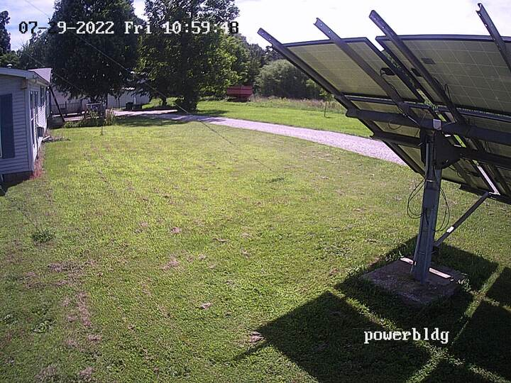web cam 2 facing southwest at 30 feet